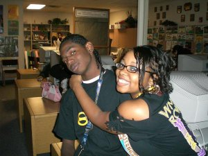 Me and my bro in high school