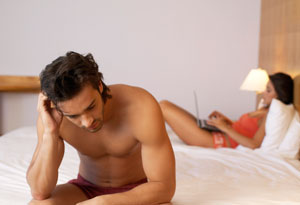 husband feeling neglected because of ambitious wife