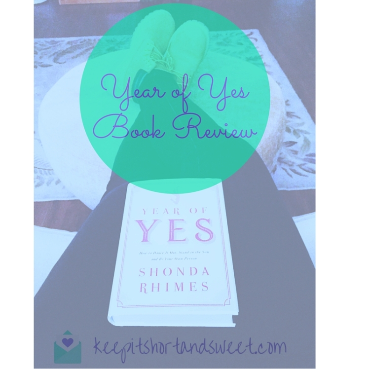 Year of Yes for the blog